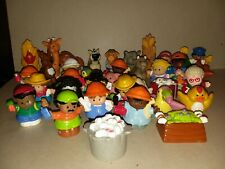 Fisher Price Little People Zoo Chunky Animal People Figures Lot of 30