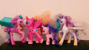 My Little Pony Princess Talking lighting MUSICAL LAUGHING PONY Bundle