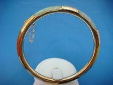 14K GOLD MULTICOLOR JADE VINTAGE BRACELET, 14.7 GRAMS.