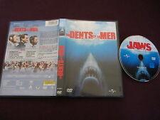 Les dents de la mer/Jaws de Steven Spielberg avec Roy Scheider, DVD, Horreur
