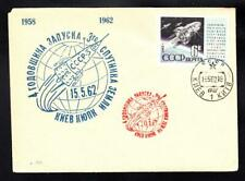 Early Space SPUTNIK 3 Anniversary 1962 Russia Space Cover (A5507)