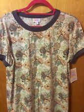 NWT LuLaRoe Liv Shirt Top Womens Size Large Floral