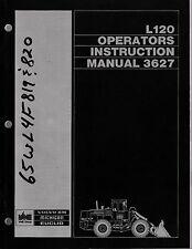 Volvo Michigan L120 Loader Operator's Manual