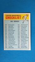 1966 TOPPS BASEBALL #444 6TH SERIES CHECKLIST EX UNMARKED