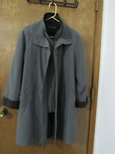 Winter*Gallery* women coats size S,Solid,Polyester,Long Sleeve,Zipper/Button,HQ