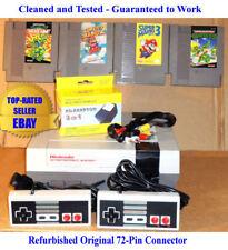 NES Console Bundle + Mario Bros 2 3 & Teenage Mutant Ninja Turtles 1 2 - Tested