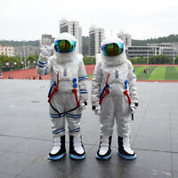 2019 Cosplay Spaceman Astronaut Mascot Costume Dress Adults Outfits Parade Suit