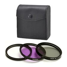 62mm Multi Coated Filter Kit  UV+ FLD+ CPL For Nikon 70-300G