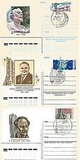 Russia - 3 Postal Stationery - 1977-1987 years - Space Engineers