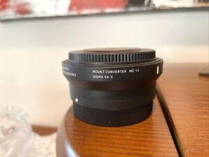 sigma mc-11 Sony FE -  Sigma SA