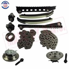 Timing Chain Kit Cam Phaser For 04 - 08 Ford F150 F250 Expedition Lincoln 5.4L