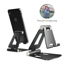 Aluminum Phone Holder Foldable Desk Stand For iPhone 11 Pro Max X Samsung Xiaomi