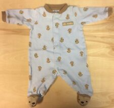 Carter's One Piece Newborn Silly Monkey Cotton Preowned InfantBabyShop.com