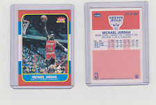 1986-87 Fleer Michael Jordan ROOKIE REPRINT CARD RP RC NEAR MINT+ condition