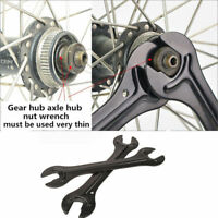 2 End Bike Hub Cone Wrench Bicycle Wheel Axle Pedal Spanner Repair Tool PS