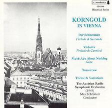 Korngold in Vienna, New Music
