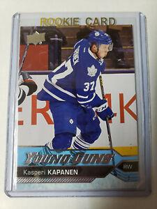 Kasperi Kapanen YG 2016-17 Upper Deck