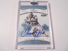 Charley Taylor 2016 Panini Honors Auto Signed 2001 Donruss Classics /99 Redskins