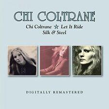 Chi Coltrane - Chi Coltrane  Let It Ride  Silk and Steel [CD]