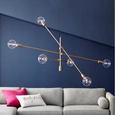 LED Magic Beans Ceiling Lamp Living Room Pendant Light Fixtures Gold Chandelier