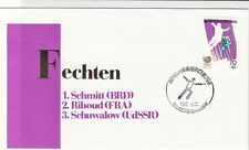 south korea 1988 olympics stamps cover ref 18906