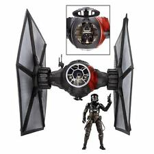 "Star Wars Black Series 6"" Deluxe FIRST ORDER SPECIAL FORCES TIE FIGHTER w/ PILOT"