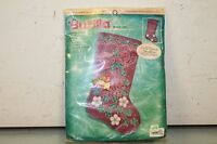 Bucilla STOCKING FELT Applique Christmas Holiday Kit,GLITTER & GLITZ,84303,18""