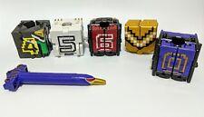 Doubutsu Sentai Zyuohger DX Zyuoh Condor Wild Cube 0 4 5 6 Tiger Power Rangers