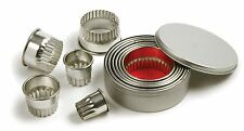 Norpro 3486 Fancy Scallop Cookie Biscuit Pastry Cutters Set Of 11