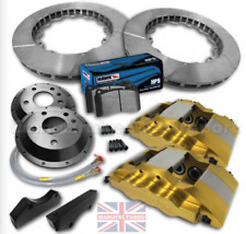 FORD FIESTA MK7/8 17 FRONTBRAKE KIT–6 POT CALIPERS[PRO RACE 6]330MMX 32MM ROTORS