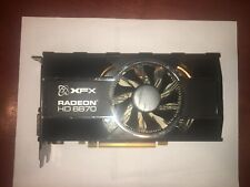 XFX AMD Radeon HD 6870 Graphics Card 1 GB GDDR5 AMD HD3D Technology - 3D-Ready
