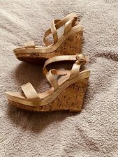 wedge sandals size 4
