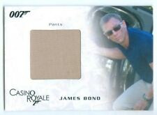 "DANIEL CRAIG ""JAMES BOND COSTUME/RELIC CARD #SC03"" JAMES BOND IN MOTION"