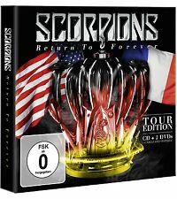 SCORPIONS - RETURN TO FOREVER - NEW CD / DVD