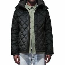 Canada Goose Hendriksen Quilted Down Coat Men's Black Jacket Size Medium