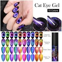 LILYCUTE 9D Cat Eye UV Gel Nagellack Nagelkunst Magnetgel Lack Nail Art Varnish