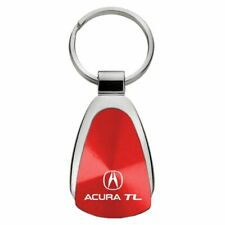 Acura TL Key Ring Red Teardrop Keychain