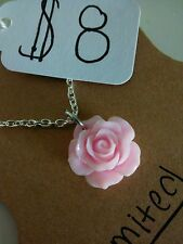 Lolita Flower Necklace (Gold or Silver Chain)