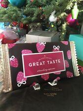 "Kate Spade New York ""CHOCOLATE PACKET BAR"" Creme De La Cream Clutch Bag, NWT"