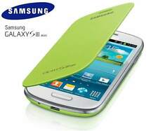 Samsung Galaxy S3 Mini i8190 Genuino Original Abatible Cubierta Caso-Verde Menta