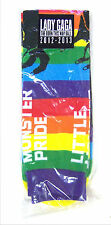 LADY GAGA BORN THIS WAY BALL 2012 2013 MONSTER PRIDE RAINBOW SOCKS NEW OFFICIAL