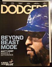 RARE Dodgers Magazine MATT KEMP June 2013 Program Mint  Beastmode
