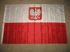 Old Poland Polska Eagle Flag 4x6 Foot Flag House Banner Super Polyester Outdoor