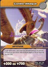 Carte DINOSAUR KING Série Titanesque DKTB 045/100 CONTRE ATTAQUE