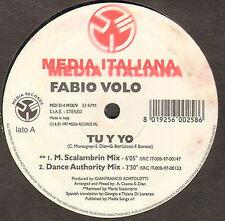 FABIO VOLO - Tu y Yo - Media Italiana - MDI 014 - Ita