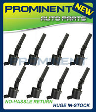 New 8 Pack High Energy Super Ignition Coils For Ford F150 250 4.6L 5.4L DG508