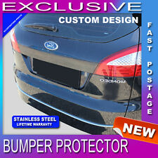 715B Ford Mondeo mk4 Estate 2007-2009 REAR BUMPER SILL PROTECTOR STAINLESS STEEL