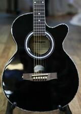 Paragon J002CE Electro Acoustic Guitar Black