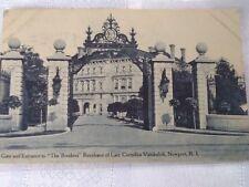 "1911 ""The Breakers"" gate Postcard"
