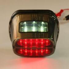Rear Tail LED Brake Light License Plate Fit 4 Harley Electra Glide Ultra Classic